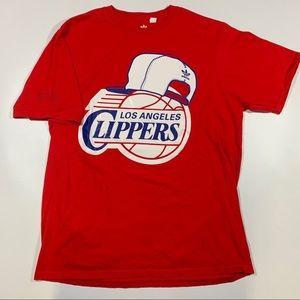 NBA LA Clippers Men's Adidas T-shirt